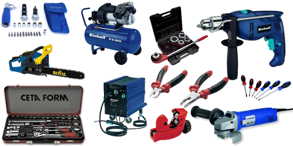 Berner, Work-It, Tooltech, Ceta Form, Super Ego, Ferm, Bosch, Black&Dekker, Klauss, Kress, Einhell